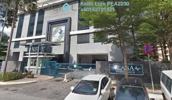 Condominium For Rent in Casa Residency, Pudu Freehold Fully Furnished 2R/2B 2k