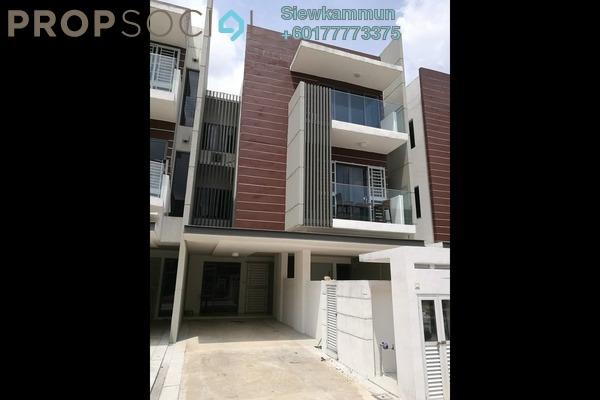 Townhouse For Rent in The Vale @ Sutera Damansara, Damansara Damai Freehold Semi Furnished 4R/4B 2k