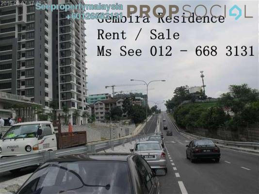 Condominium For Rent in Gembira Residen, Kuchai Lama Freehold Semi Furnished 3R/2B 2k