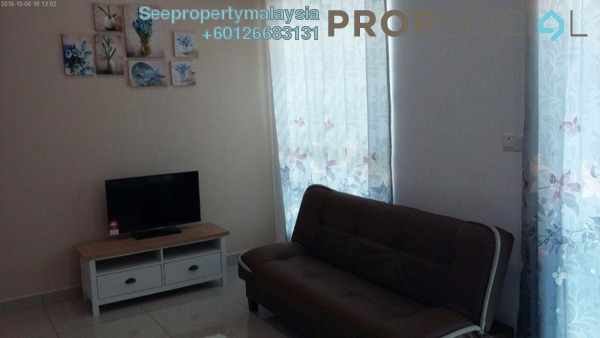 Condominium For Rent in CyberSquare, Cyberjaya Freehold Fully Furnished 1R/1B 1.1k