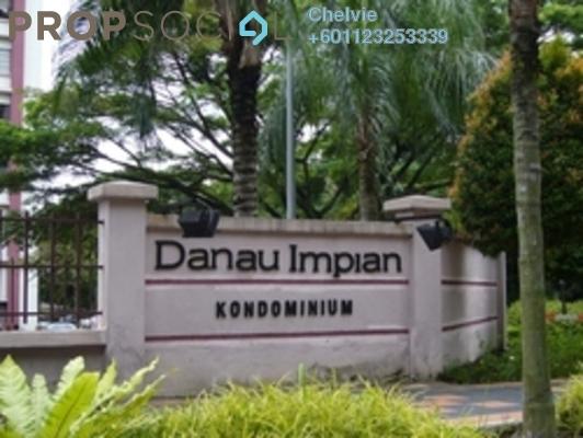 Condominium For Rent in Danau Impian, Taman Desa Leasehold Semi Furnished 3R/2B 1.65k