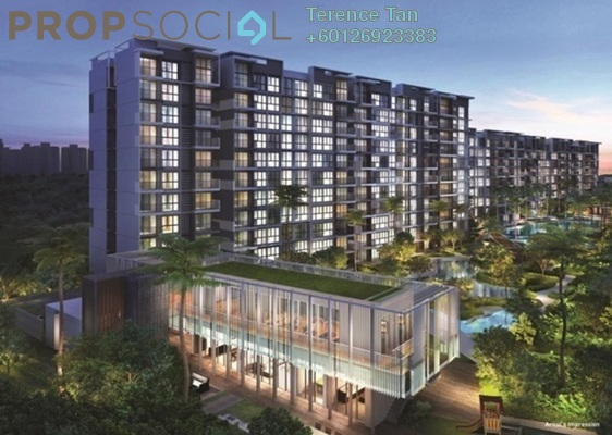 Condominium For Sale in Bandar Teknologi Kajang, Semenyih Freehold Unfurnished 3R/2B 309k