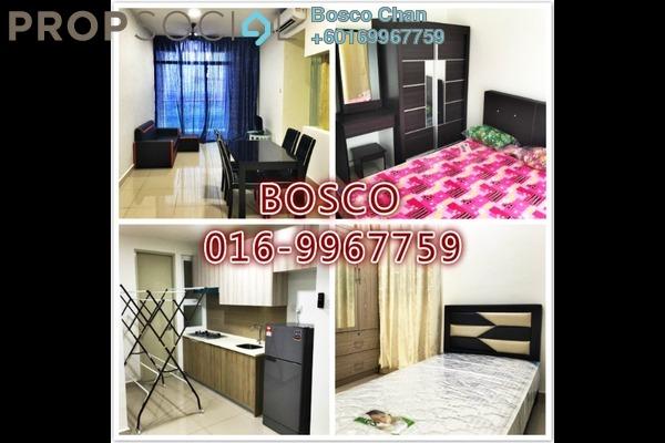Condominium For Rent in Mutiara Ville, Cyberjaya Freehold Fully Furnished 3R/2B 1.6k