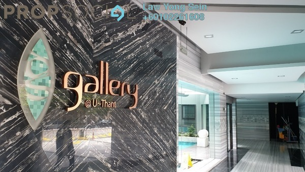 Condominium For Sale in Gallery U-Thant, Ampang Hilir Freehold Semi Furnished 3R/4B 3.7m