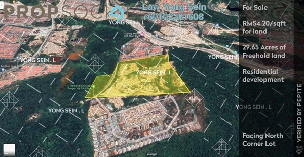 Land For Sale in Section U9, Shah Alam Freehold Unfurnished 0R/0B 70m