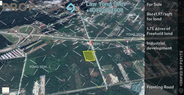 Land For Sale in Jenjarom, Selangor Freehold Unfurnished 0R/0B 3.2m