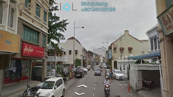 Shop For Sale in Lebuh Chulia, Georgetown Freehold Unfurnished 0R/0B 4.8m