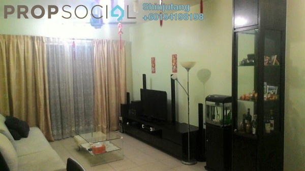 Apartment For Sale in Centro View, Butterworth Freehold Fully Furnished 3R/2B 410k
