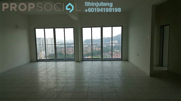 Condominium For Sale in The Golden Triangle, Relau Freehold Unfurnished 6R/3B 900k