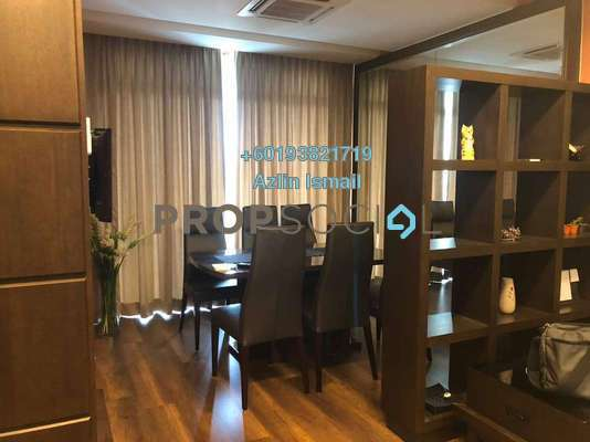 Condominium For Rent in Kristal View, Shah Alam Freehold Fully Furnished 4R/2B 2.8k