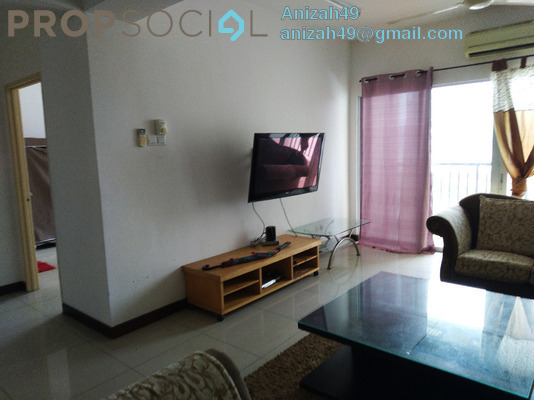 Condominium For Sale in Ampang Putra Residency, Ampang Freehold Semi Furnished 3R/3B 420k