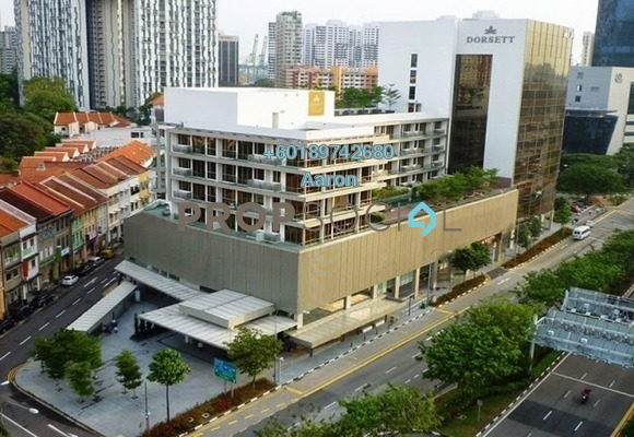Condominium For Rent in Dorsett Residences, Bukit Bintang Freehold Fully Furnished 1R/1B 4.2k