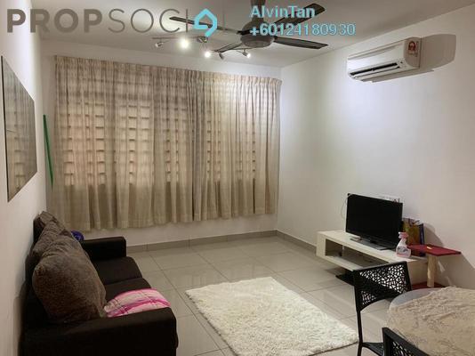 Condominium For Rent in 228 Selayang Condominium, Selayang Freehold Fully Furnished 3R/2B 1.3k