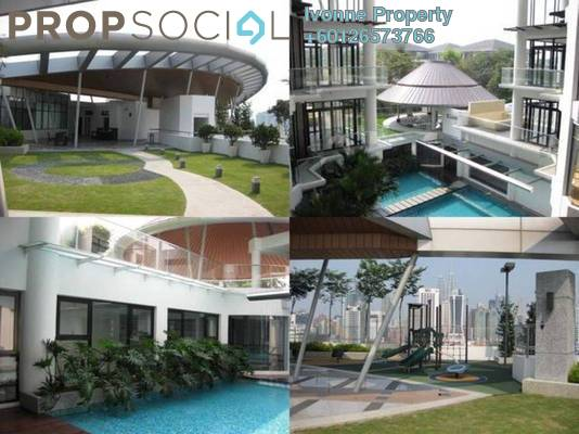 Condominium For Rent in Gallery U-Thant, Ampang Hilir Freehold Semi Furnished 3R/4B 10k