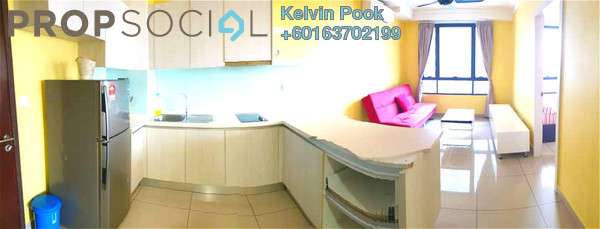 Condominium For Rent in Solstice @ Pan'gaea, Cyberjaya Freehold Fully Furnished 6R/1B 999translationmissing:en.pricing.unit