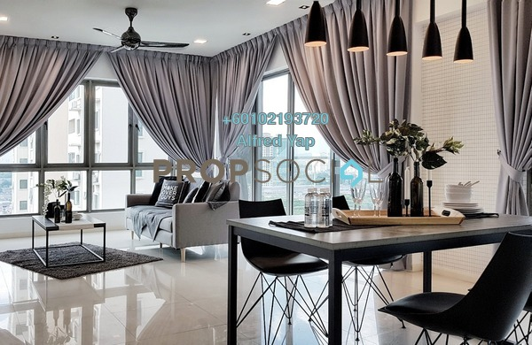 Condominium For Rent in The Maple, Sentul Freehold Fully Furnished 3R/2B 3.9k