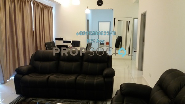Condominium For Rent in The Sky Executive Suites, Bukit Indah Freehold Fully Furnished 3R/4B 3.6k