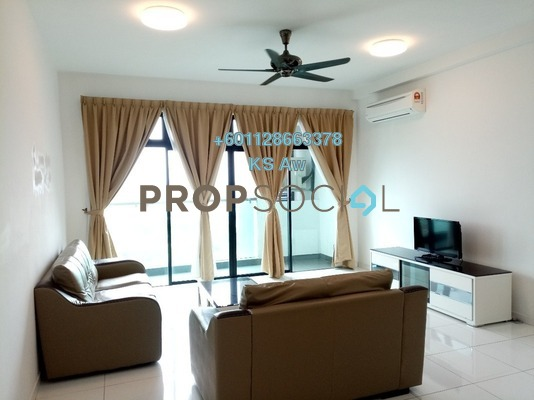 Condominium For Rent in Sky Loft, Bukit Indah Freehold Fully Furnished 2R/2B 2.5k