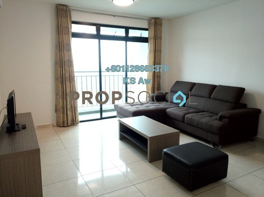 Condominium For Rent in Sky Breeze, Bukit Indah Freehold Fully Furnished 3R/3B 3k