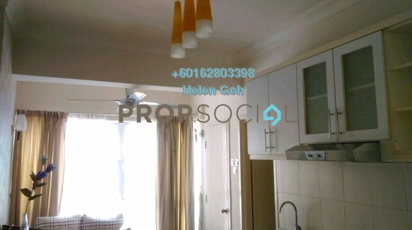 Apartment For Rent in Casa Mutiara, Pudu Freehold Fully Furnished 0R/1B 1.5k