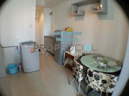 Serviced Residence For Rent in Park View, KLCC Freehold Fully Furnished 1R/1B 2k