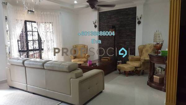 Terrace For Sale in Taman Andaman Ukay, Ukay Freehold Semi Furnished 3R/2B 1.5m