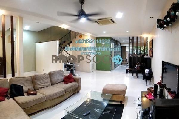 Terrace For Sale in Taman Esplanad, Bukit Jalil Freehold Semi Furnished 5R/4B 1.65m