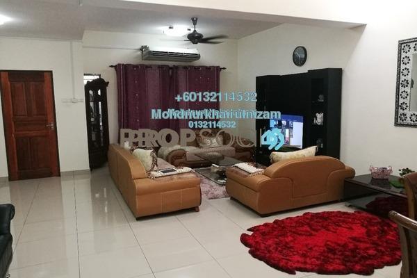 Terrace For Sale in Bandar Saujana Utama, Sungai Buloh Freehold Semi Furnished 4R/3B 550k