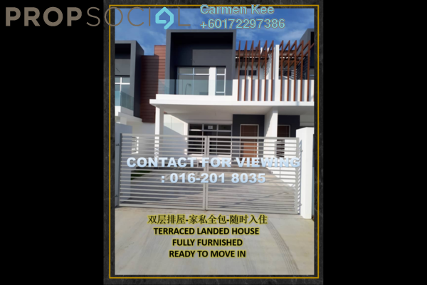 Terrace For Sale in Setia Eco Gardens, Gelang Patah Freehold Fully Furnished 4R/4B 800k