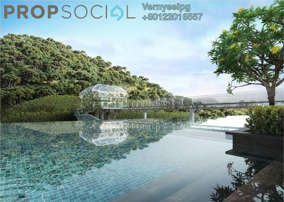 Serviced Residence For Sale in Kaleidoscope, Setiawangsa Leasehold Semi Furnished 3R/2B 600k