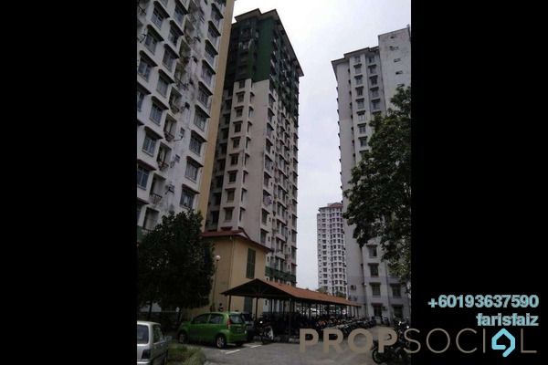 Apartment For Rent in Ilham Apartment, TTDI Jaya Freehold Unfurnished 3R/2B 1k