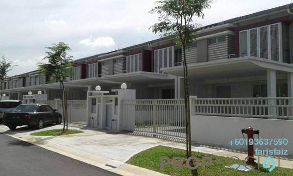 Terrace For Rent in Ariza, Elmina Gardens Freehold Unfurnished 4R/4B 1.5k