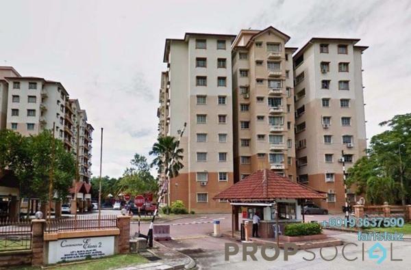 Condominium For Rent in Elaeis 2, Bukit Jelutong Freehold Semi Furnished 3R/2B 1.35k