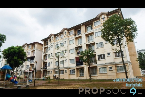 Apartment For Rent in Cendana Apartment, Shah Alam Freehold Unfurnished 3R/2B 850translationmissing:en.pricing.unit