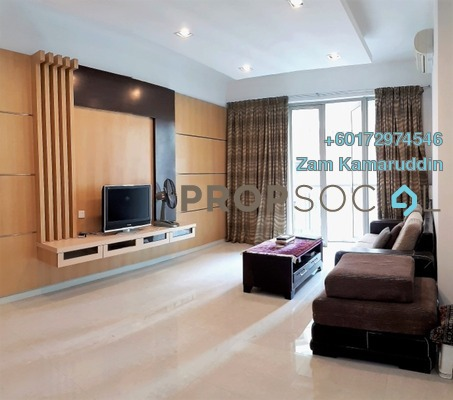 Condominium For Sale in Marc Service Residence, KLCC Freehold Fully Furnished 4R/3B 1.8m