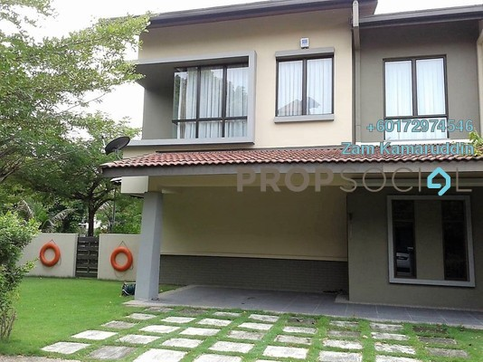 Semi-Detached For Sale in Glenmarie Cove, Port Klang Freehold Fully Furnished 6R/4B 1.5m