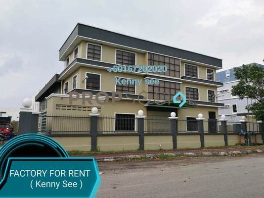 Factory For Rent in BP2, Bandar Bukit Puchong Freehold Unfurnished 0R/8B 35k