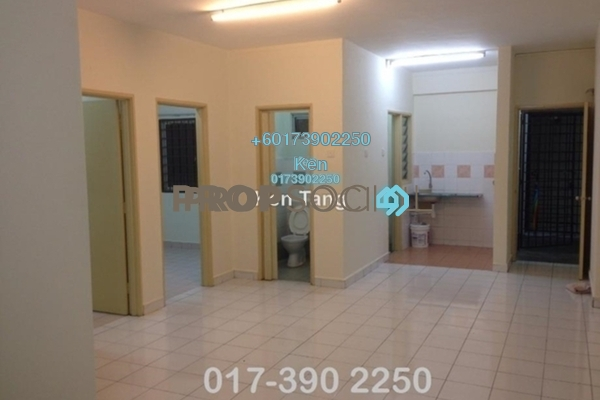 Condominium For Rent in Danau Murni, Taman Desa Freehold Semi Furnished 3R/2B 1.1k