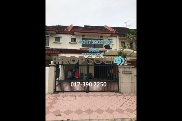 Terrace For Rent in BU10, Bandar Utama Freehold Semi Furnished 4R/3B 2.4k