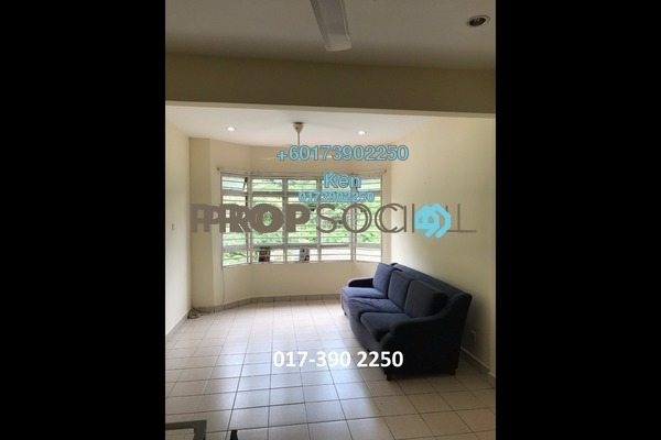 Condominium For Rent in D'Rimba, Kota Damansara Freehold Semi Furnished 3R/2B 1.6k