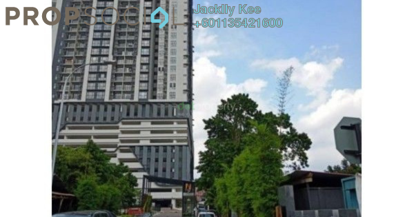 Serviced Residence For Sale in The Nest Residences, Old Klang Road Freehold Semi Furnished 2R/2B 301k