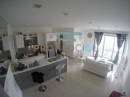 Condominium For Sale in TRiGON Luxury Residences @ Setia Walk, Pusat Bandar Puchong Freehold Semi Furnished 3R/2B 630k