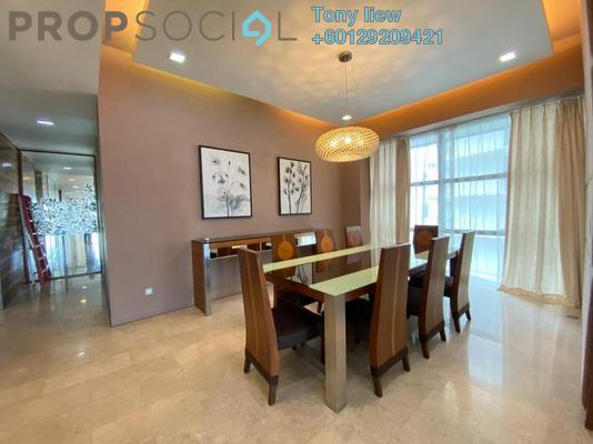 Condominium For Rent in Park Seven, KLCC Freehold Fully Furnished 4R/4B 10k