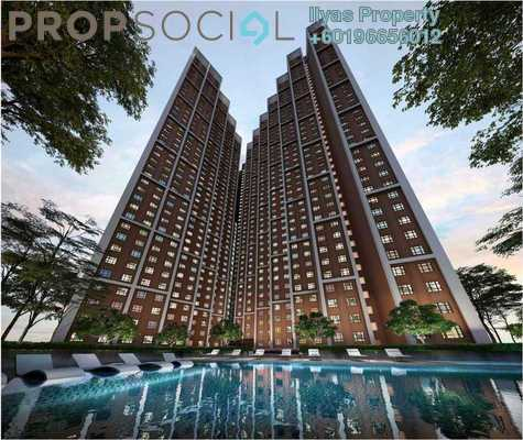 Condominium For Sale in Empire City, Damansara Perdana Freehold Unfurnished 1R/1B 270k