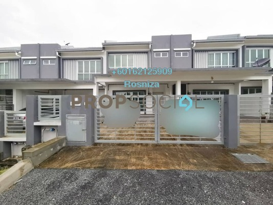 Terrace For Sale in Bandar Teknologi Kajang, Semenyih Freehold Unfurnished 4R/3B 620k