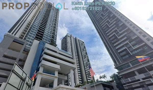 Condominium For Rent in CitiZen, Old Klang Road Freehold Unfurnished 3R/2B 1.6k