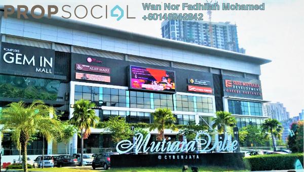 Condominium For Sale in Mutiara Ville, Cyberjaya Freehold Fully Furnished 3R/2B 480k