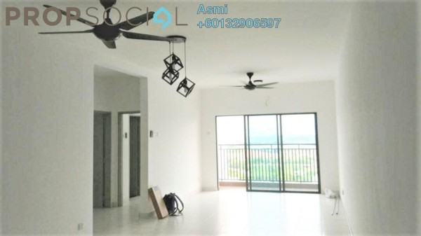 Apartment For Rent in Metia Residence, Shah Alam Freehold Semi Furnished 3R/2B 1.5k