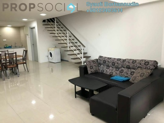 Duplex For Sale in Arte SW, Shah Alam Freehold Fully Furnished 2R/2B 480k