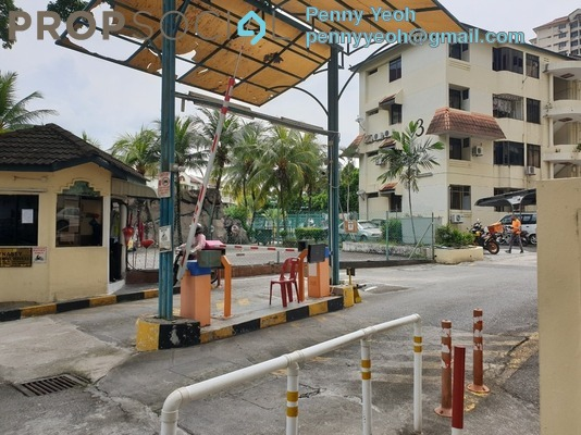 Apartment For Sale in Taman Lone Pine, Farlim Freehold Semi Furnished 3R/2B 350k